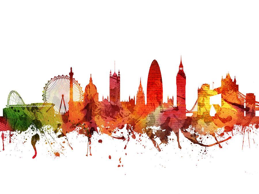 London Cityscape 04 Digital Art