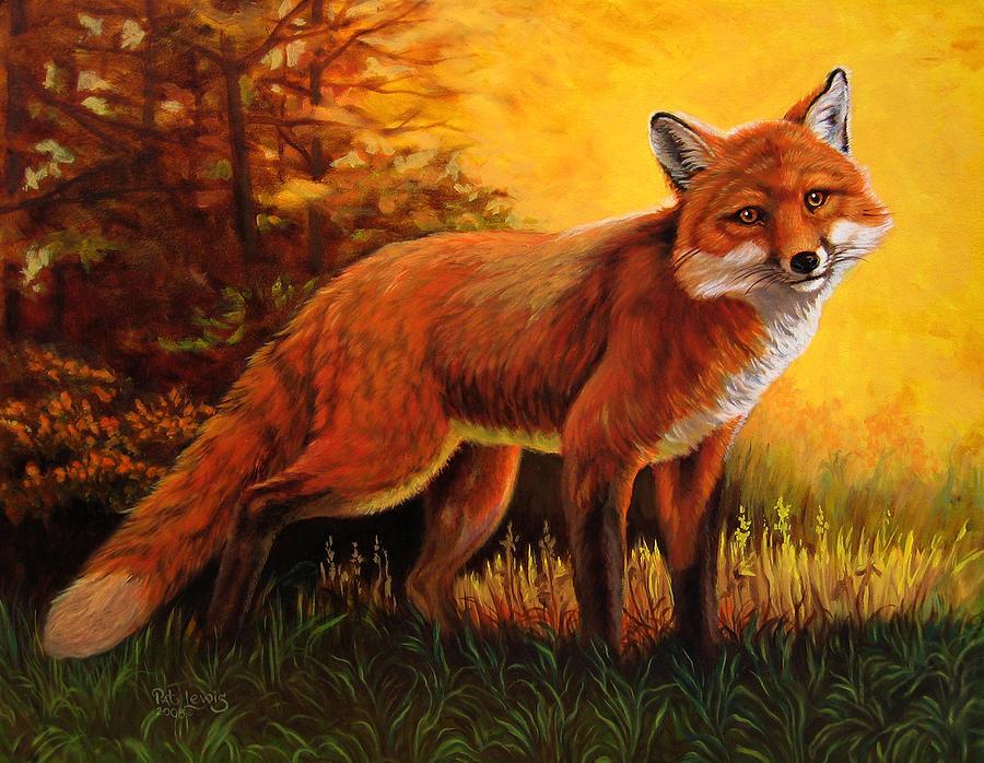 Animals Acrylic Paintings