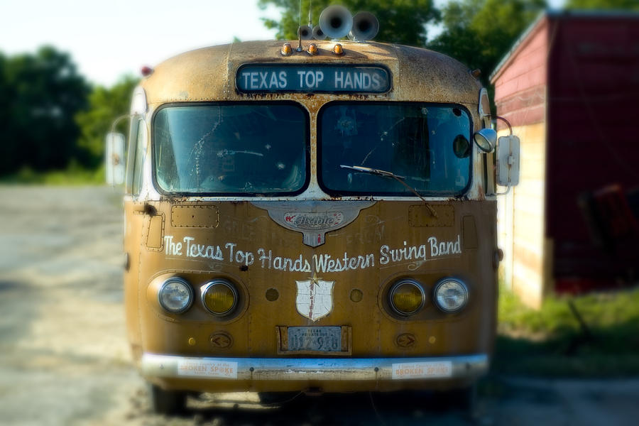 Lone Star Bus 4 Photograph