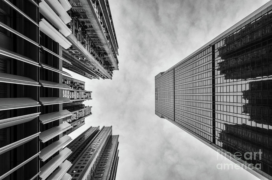 Architecture Photograph - Looming by Dean Harte