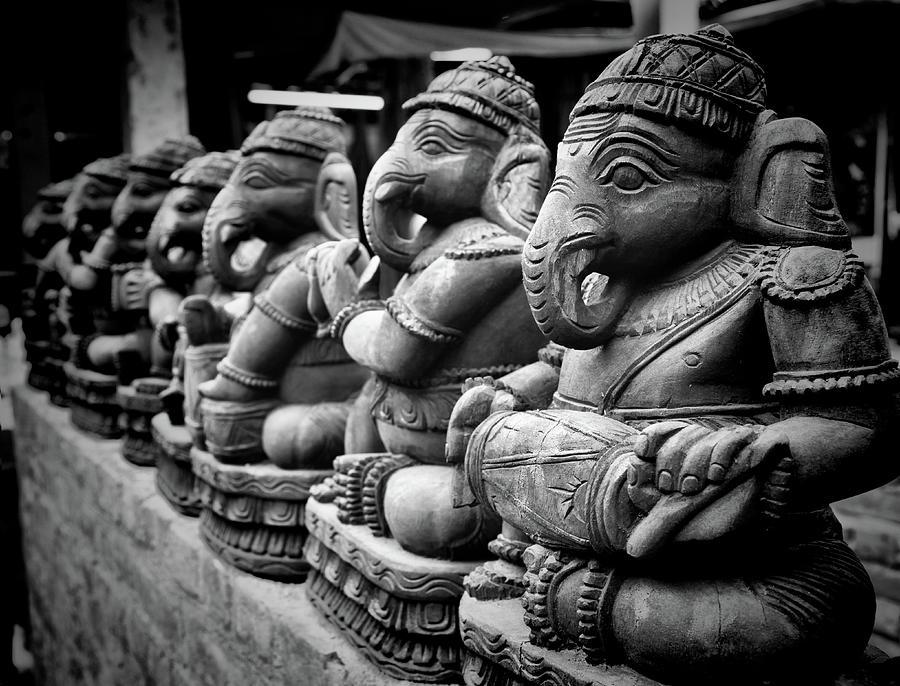 Horizontal Photograph - Lord Ganesha by Abhishek Singh & illuminati visuals