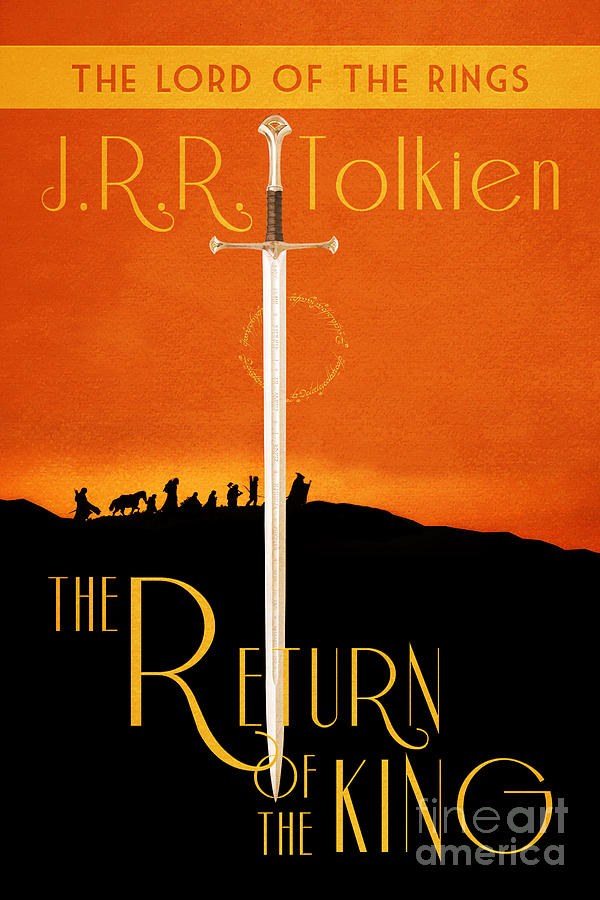 Lord Of The Rings The Return Of The King Book Cover Movie ...