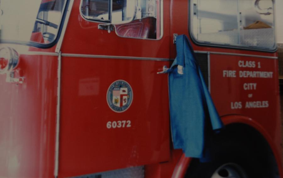 Los Angeles Fire Department Photograph - Los Angeles Fire Department by Rob Hans