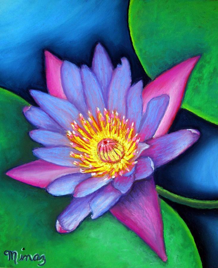 Flower Painting - Lotus Divine by Minaz Jantz