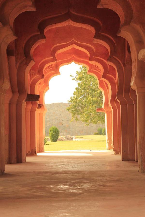 Vertical Photograph - Lotus Mahal by Jon Anderson