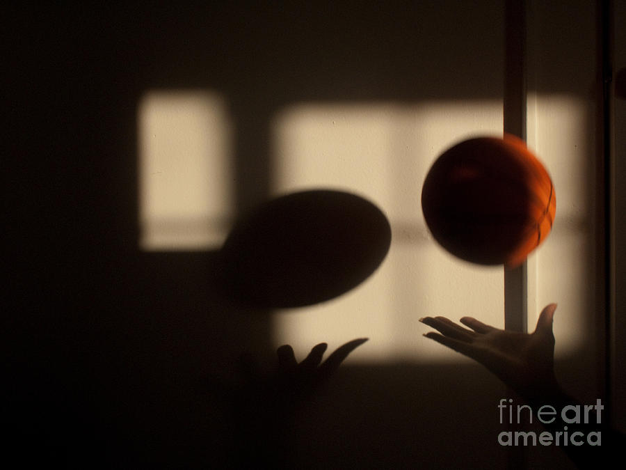 Basketball Photograph - Love And Basketball by Valerie Morrison