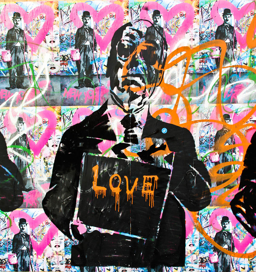 Darren Photograph - Love Chaplin by Darren Scicluna