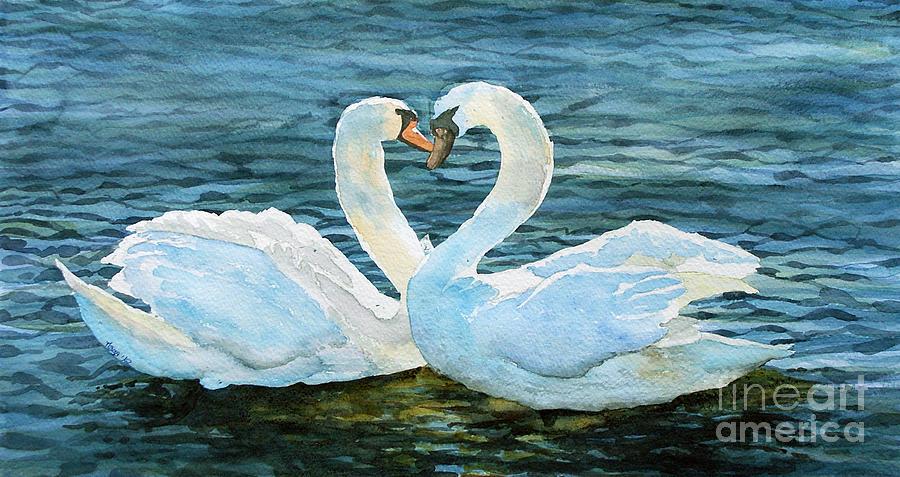Animals Painting - Love Forever by Marisa Gabetta