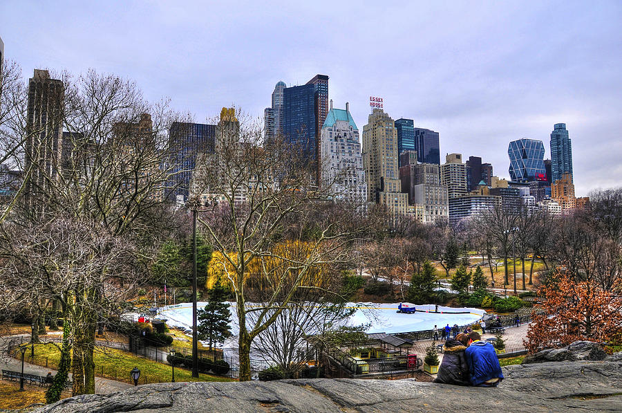 Nyc Photograph - Love In Central Park Too by Randy Aveille