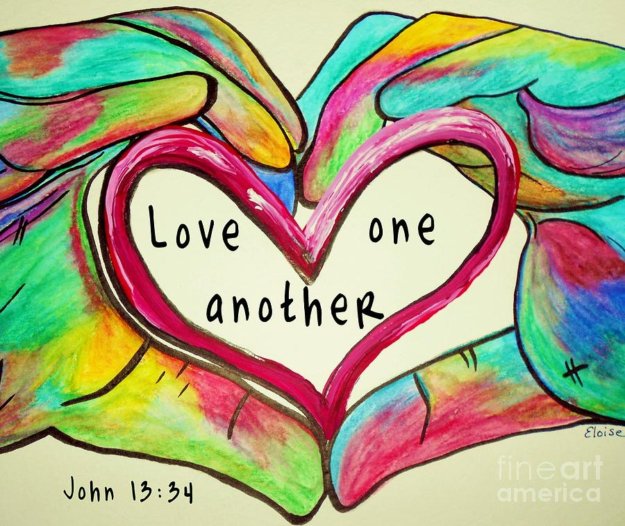 Love One Another: Loving Each Other In The Face Of The Presidential Election