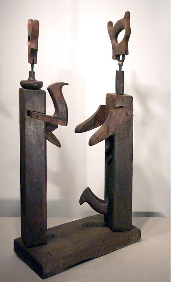 Caricatures Sculpture - Lovers by Ralph Levesque