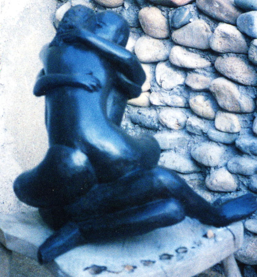 Human Figures Embracing Sculpture - Lovers by Stephen  Morris