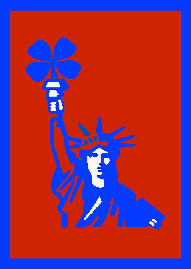 Liberty Print - Lucky Liberty by Alexander Aristotle