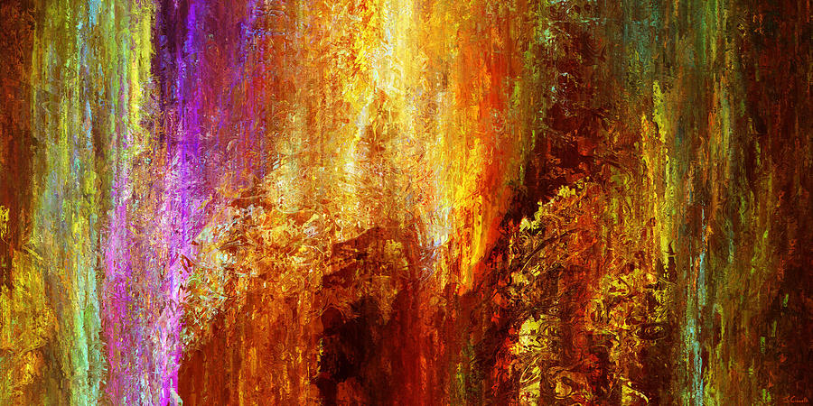Large Abstract Painting - Luminous - Abstract Art by Jaison Cianelli