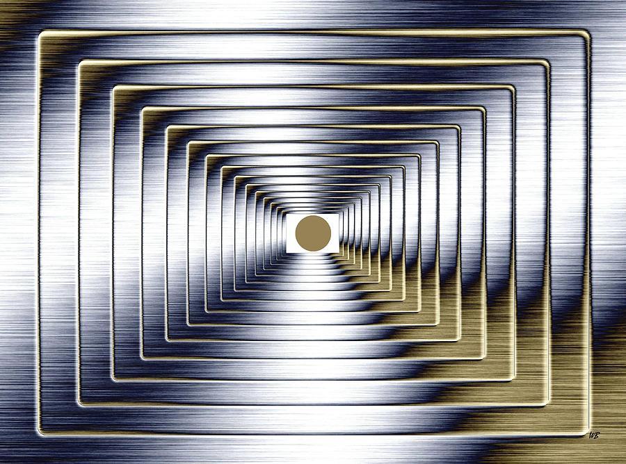 Abstract Digital Art - Luminous Energy 1 by Will Borden