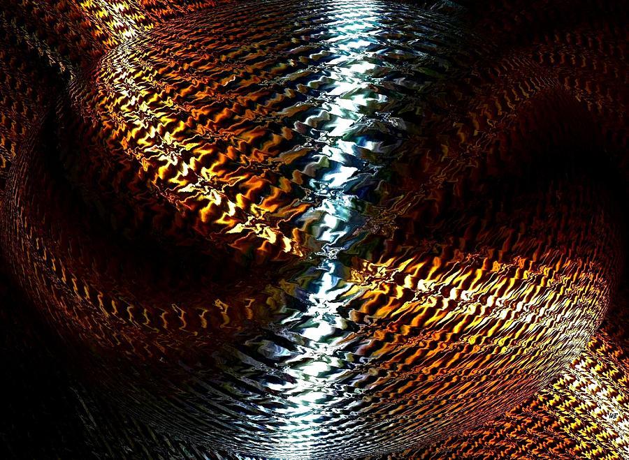 Abstract Digital Art - Luminous Energy 10 by Will Borden