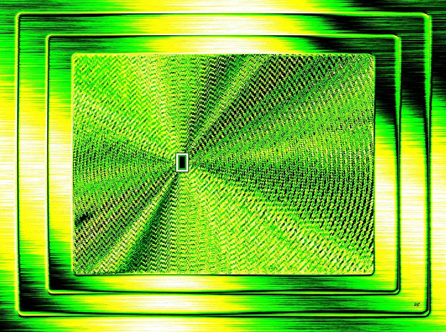 Abstract Digital Art - Luminous Energy 14 by Will Borden