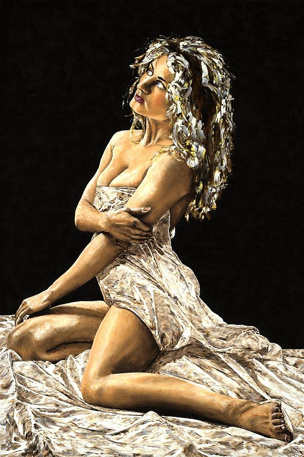 Nude Painting - Luminous by Richard Young