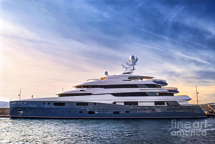 Yacht Photograph - Luxury Yacht by Elena Elisseeva