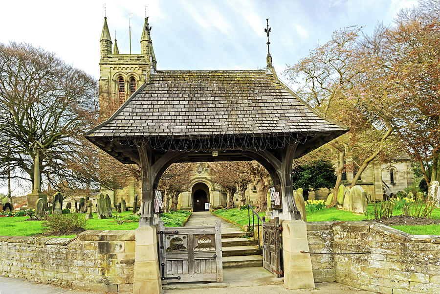 Lych Gate To All Saints Church - Helmsley Photograph