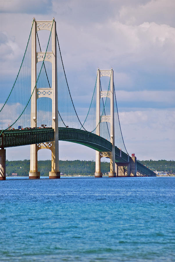 Mackinac Bridge Photograph