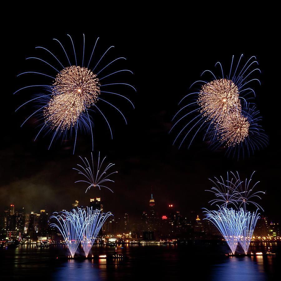 4th Of July Photograph - Macys Fireworks IIi by David Hahn