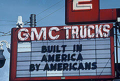 Made In America- The Signs Of The Times Collection Photograph