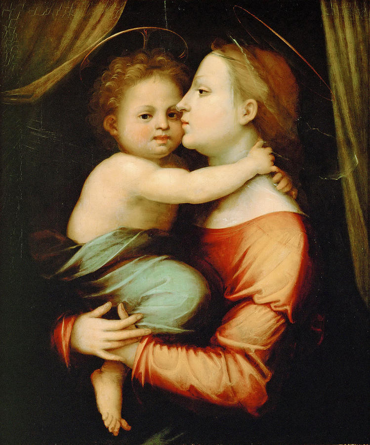 Madonna And Child Painting By Fra Bartolomeo