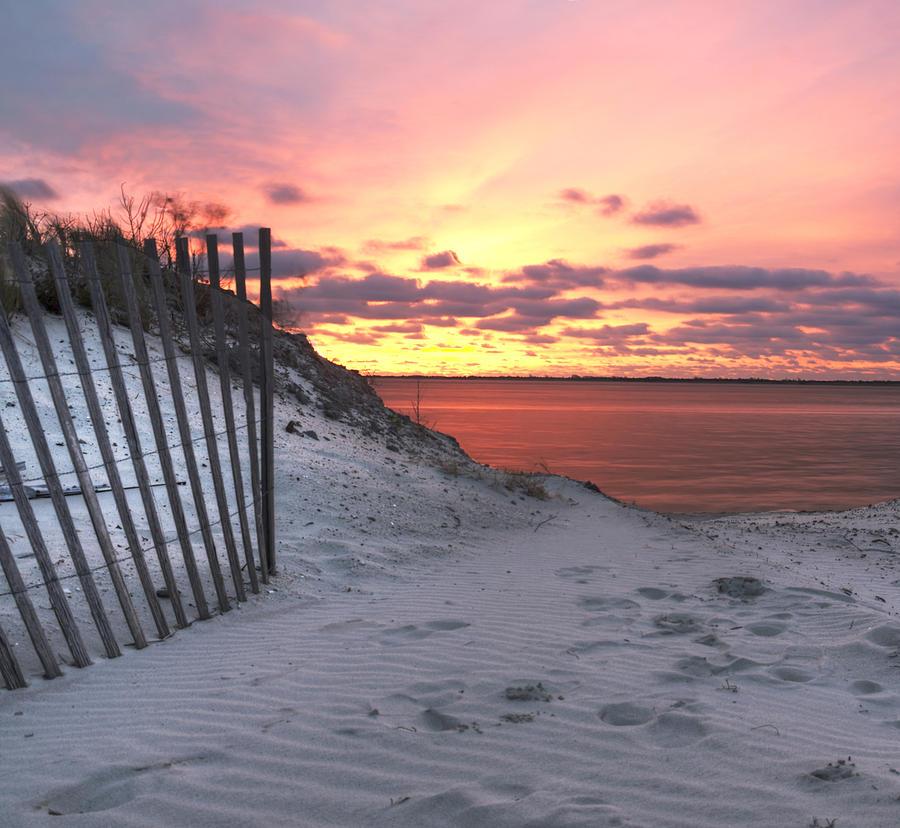 Magenta Sunrise Photograph