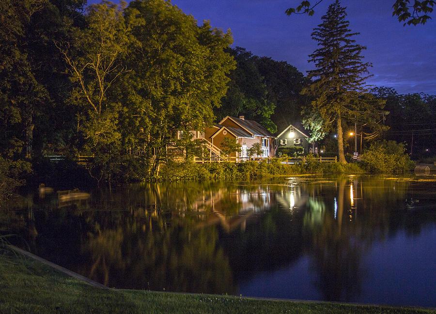 Magical Duck Pond Photograph