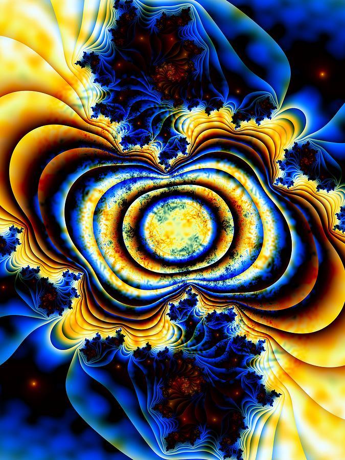Magnetic Digital Art - Magnetic Marvel by Lauren Goia