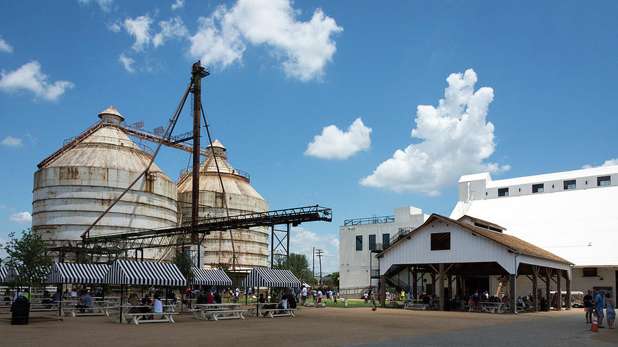 Margnolia market and silos photograph magnolia market and silos by