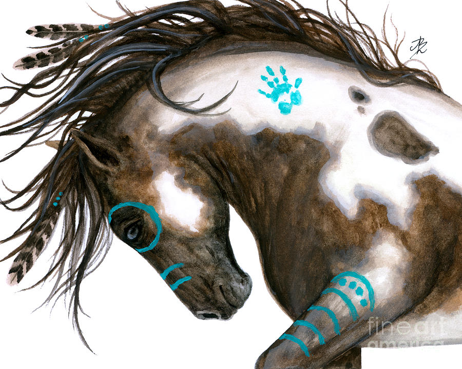 Majestic Horse 151 Painting By Amylyn Bihrle