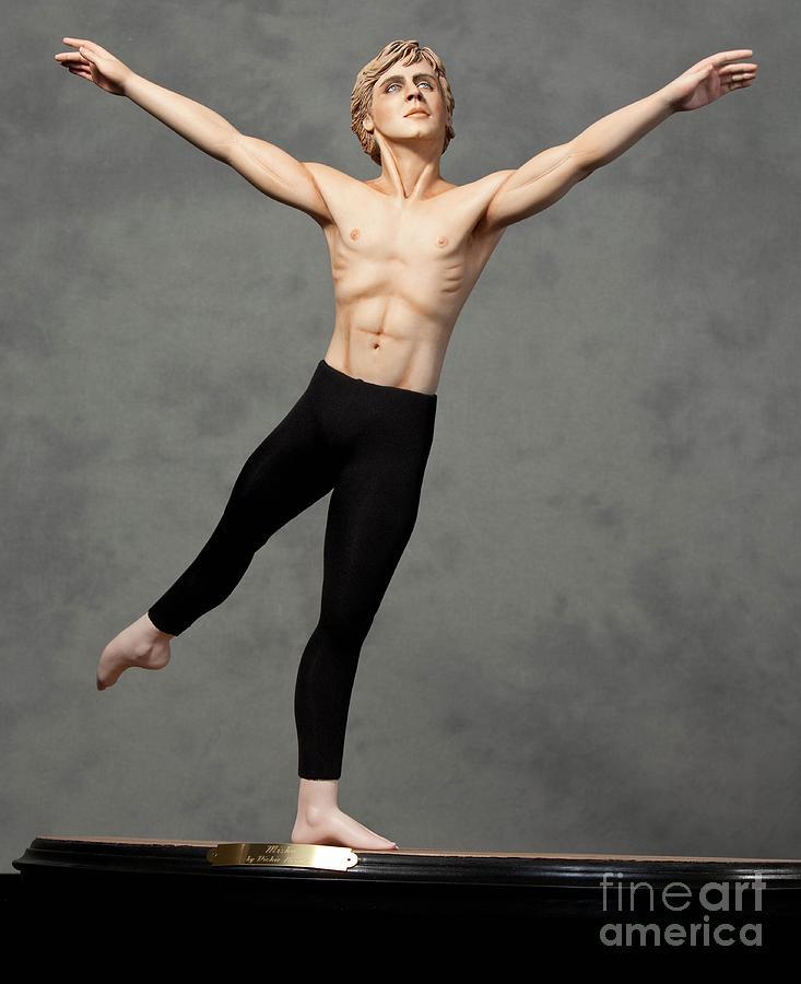 Ballet Sculpture - Male Dancer by Vickie Arentz