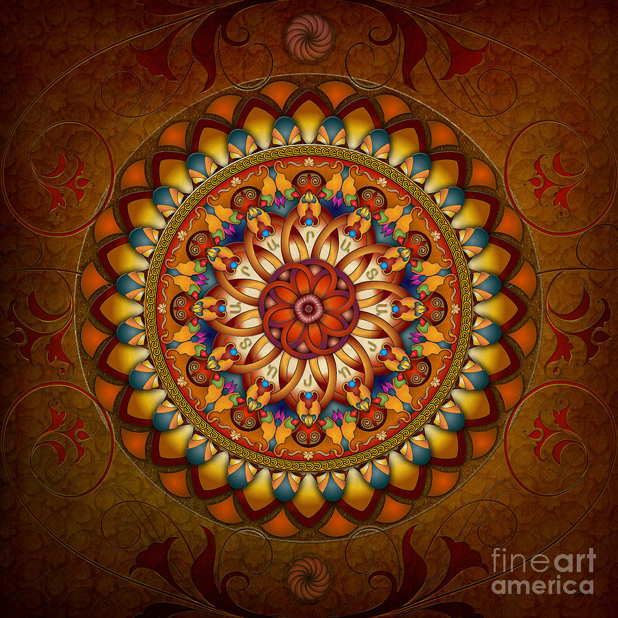 Mandala Ararat Digital Art