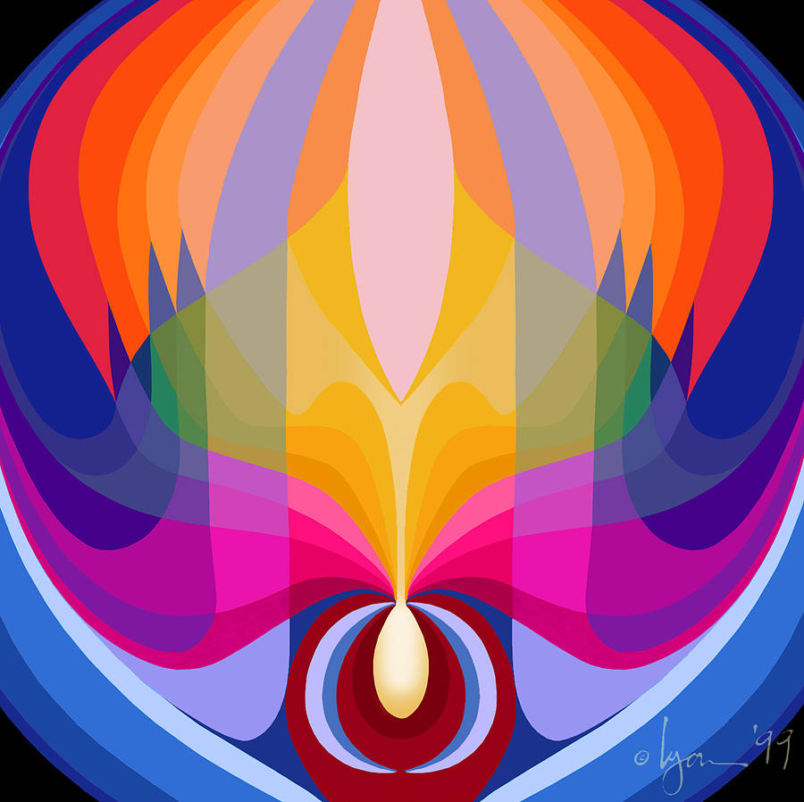Mandalas Painting - Mandala Sacred by Angela Treat Lyon