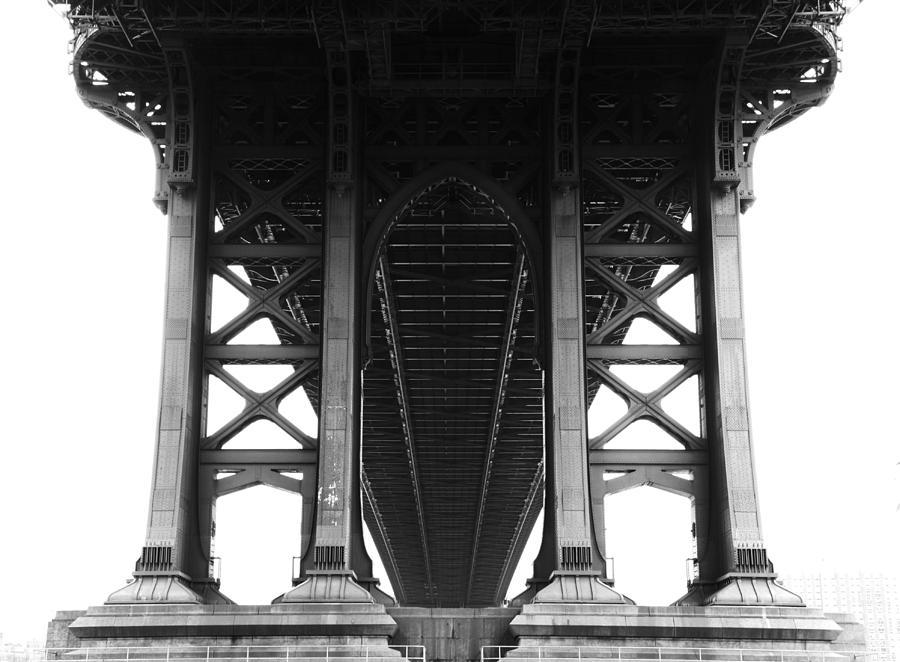 Horizontal Photograph - Manhattan Bridge by Adam Garelick