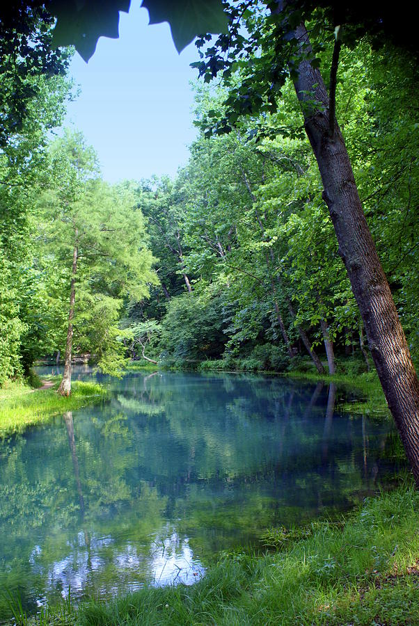 Maramec Springs Park Photograph - Maramec Springs 2 by Marty Koch
