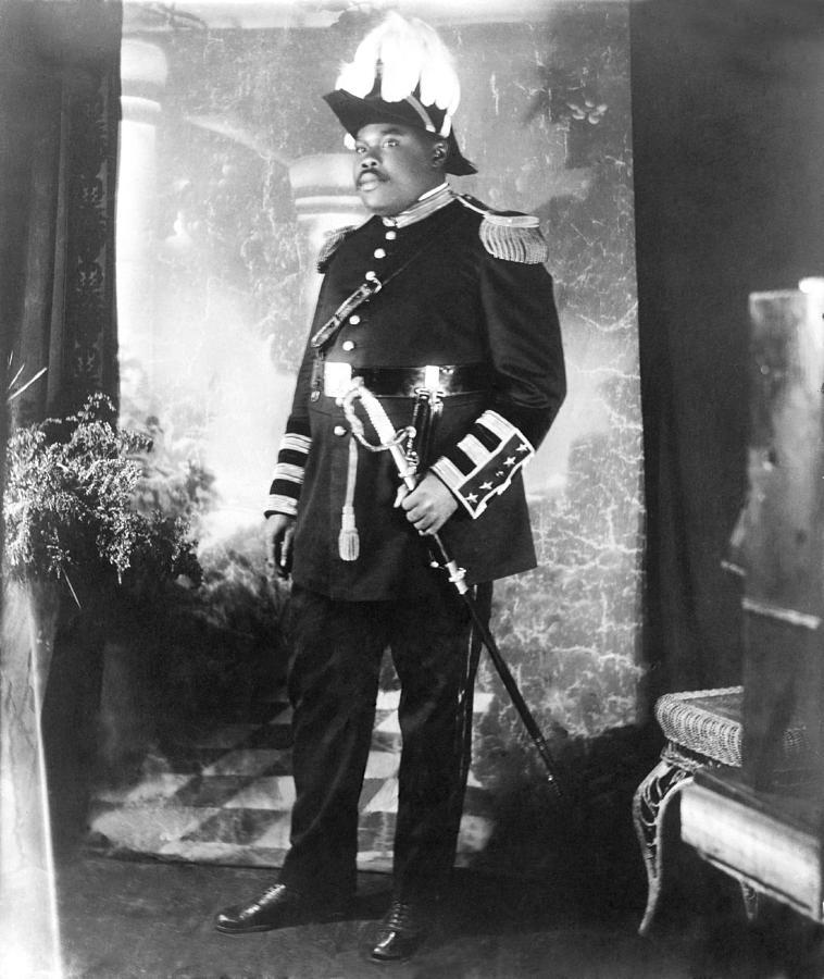 History Photograph - Marcus Garvey 1887-1940 by Everett