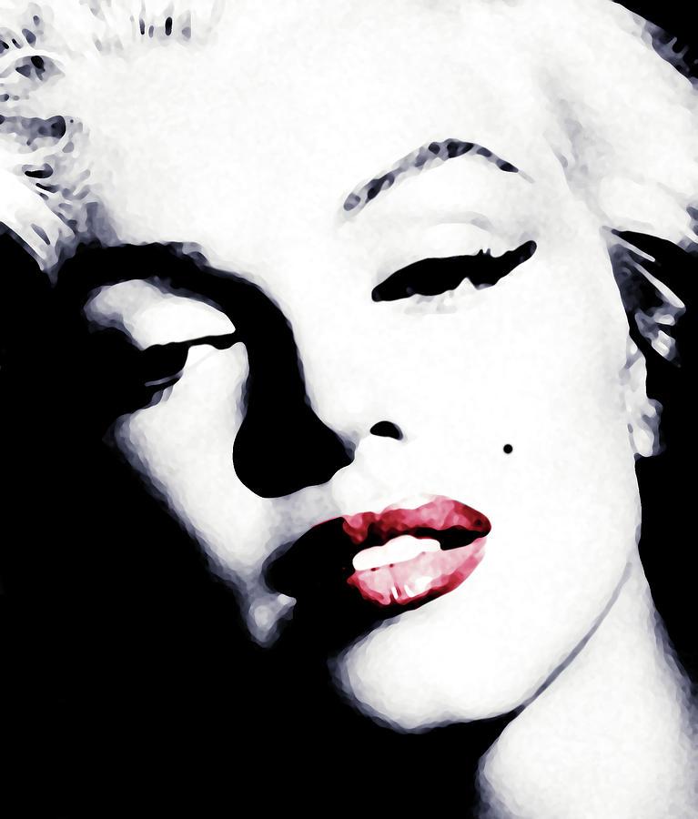 Marilyn Monroe Digital Art - Marilyn by Laurence Adamson