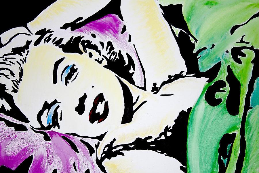 Marilyn Painting - Marilyn Monroe by Brittany Prichard