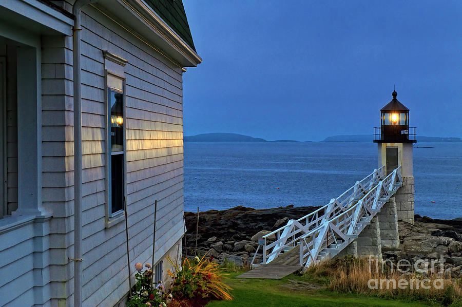 Maine Photograph - Marshall Point Lighthouse by John Greim