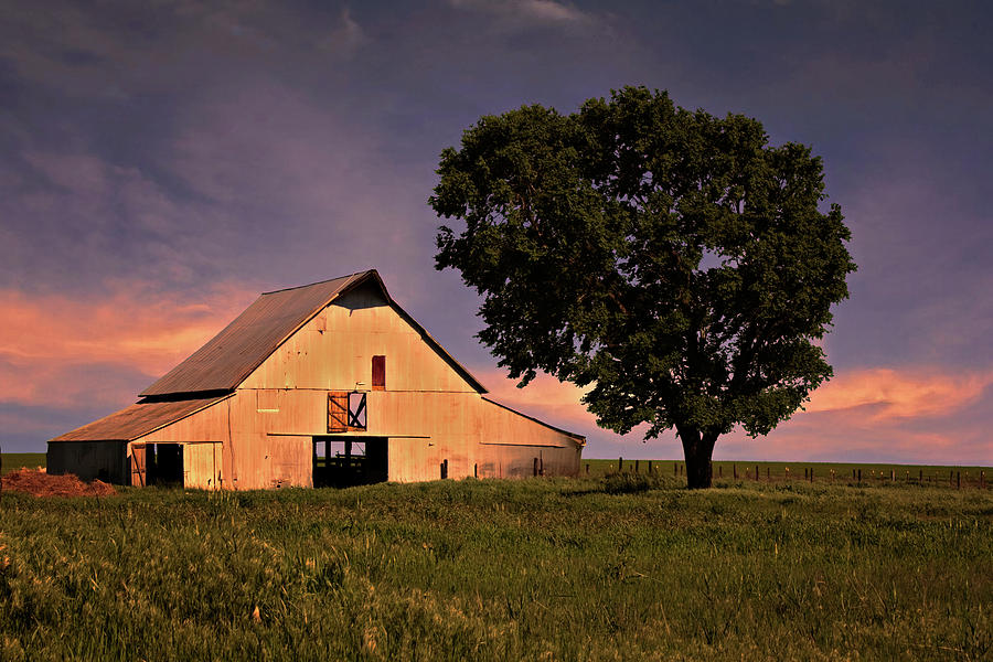 Ok Photograph - Marshalls Farm by Lana Trussell