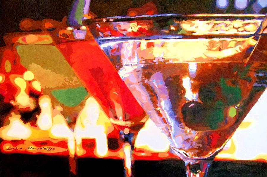 Martinis Painting