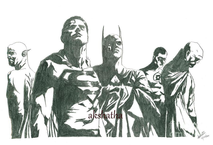 Marvel Heros Drawing