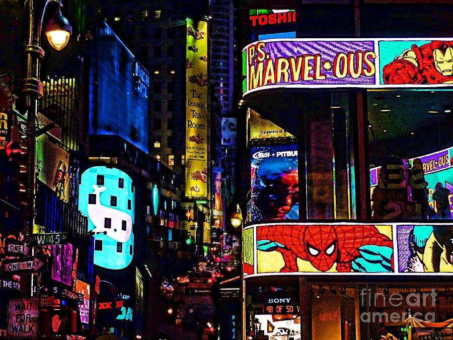 Marvel Comics Photograph - Marvelous by Jeff Breiman
