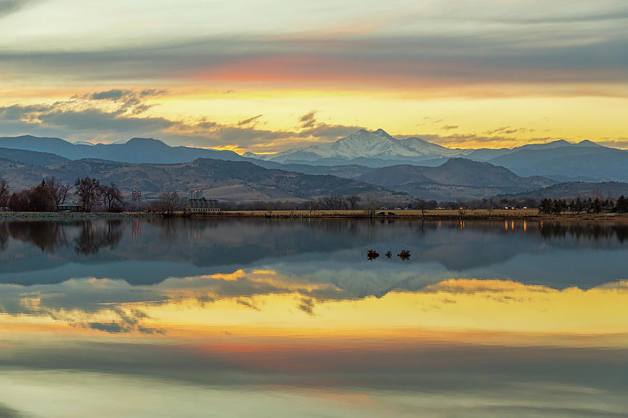 Marvelous Mccall Lake Reflections Photograph