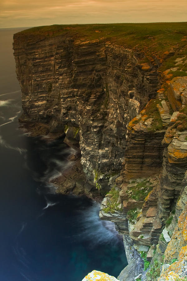 Britain Photograph - Marwick Head Orkney Scotland by Gabor Pozsgai