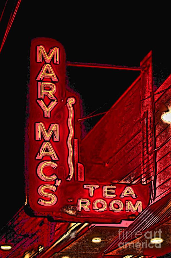 Mary Macs Resturant Atlanta Photograph