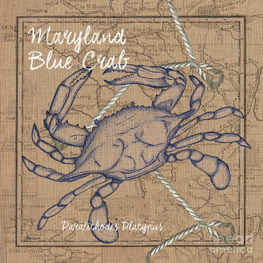 Maryland Blue Crab Painting